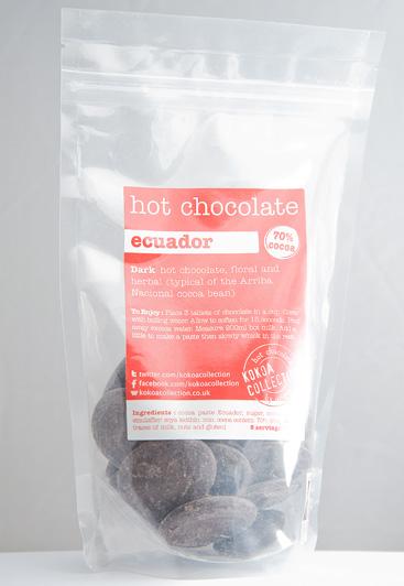 Hot Chocolate Dark Ecuador