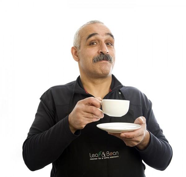 Os with tea cup